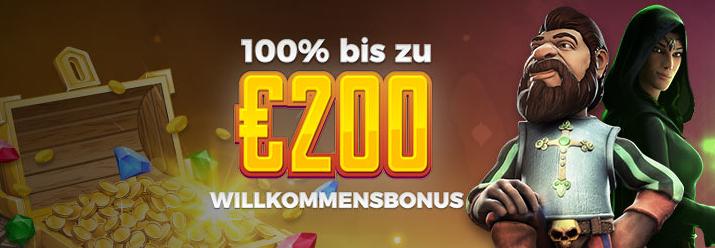 200 Willkommensbonus Energy - 20454