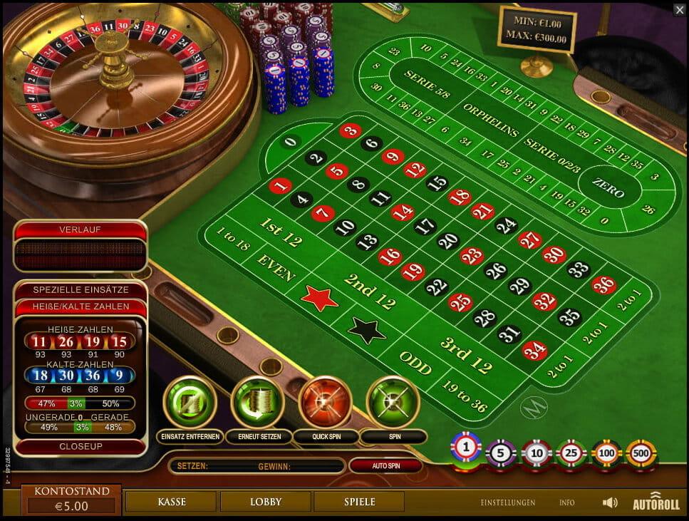 Europäisches Roulette Regeln - 78930