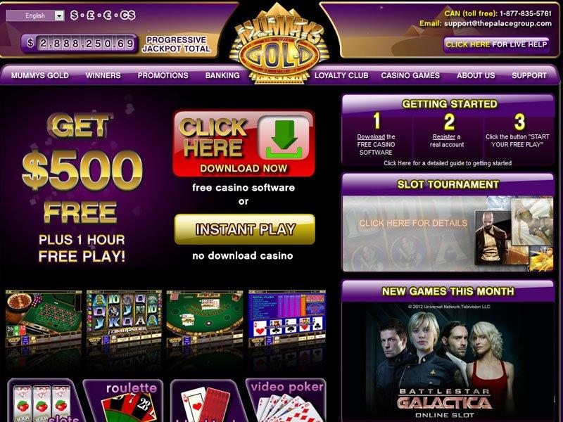 Einsatzerhöhung Casino Mummys - 35771