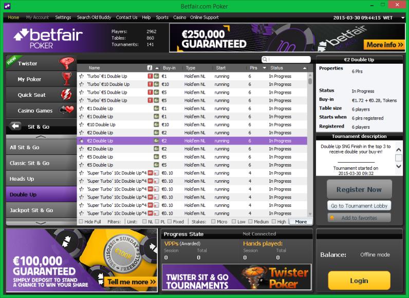 Betfair Casino - 87427