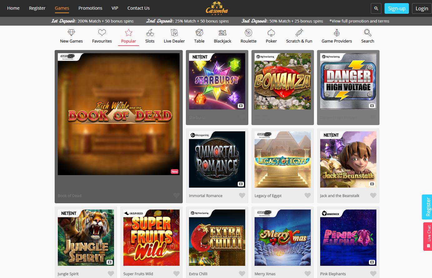 Spiele Casinos - 58540
