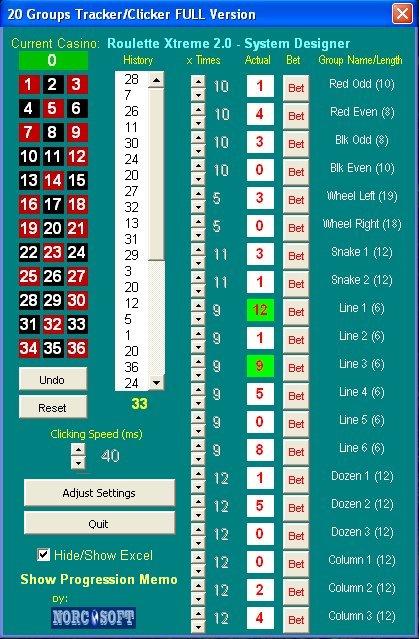 Roulette Simulator - 81727