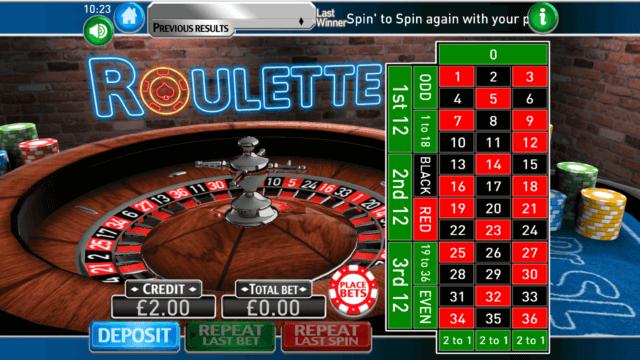 Europäisches Roulette All - 32586