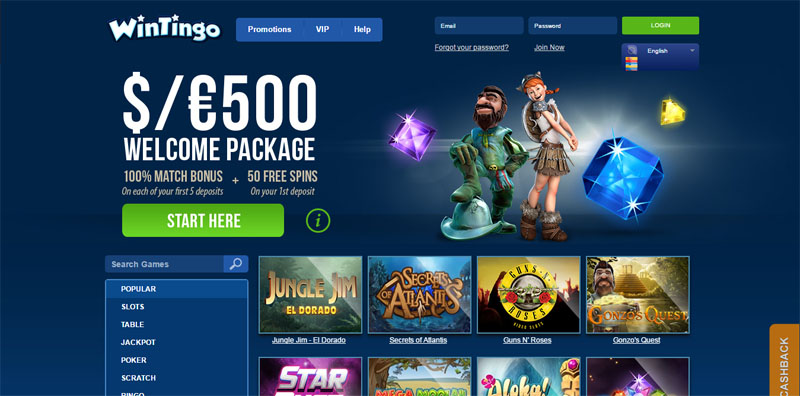 Casino Welcome - 90361
