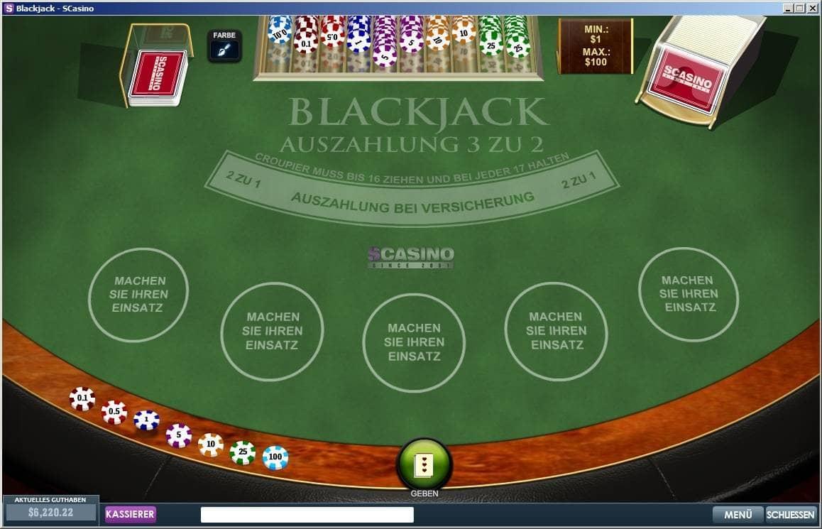 Blackjack Strategien - 93975