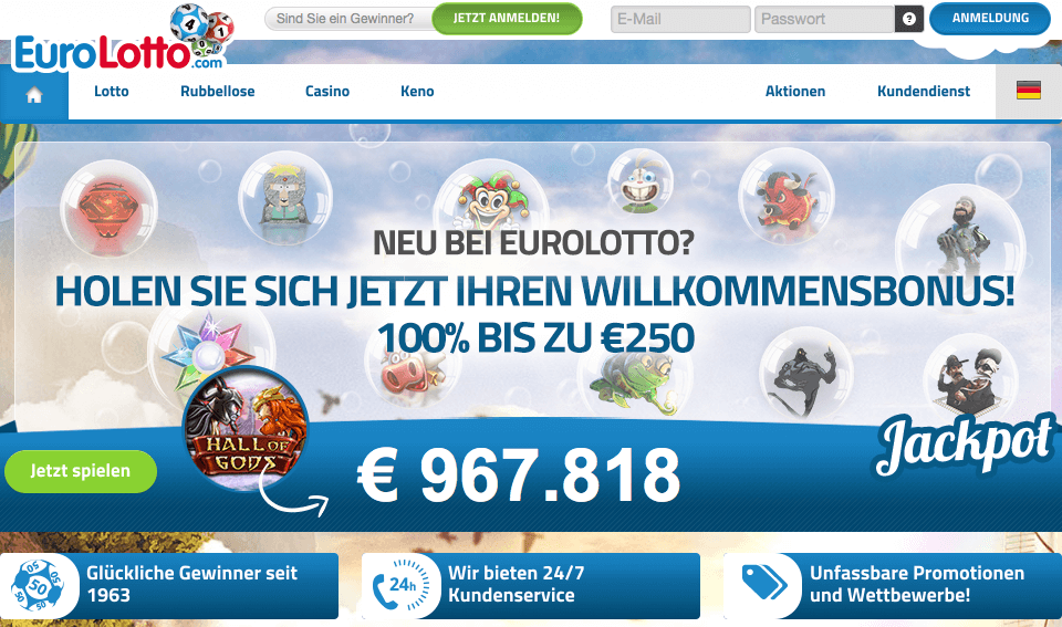Lotto spielen - 5873
