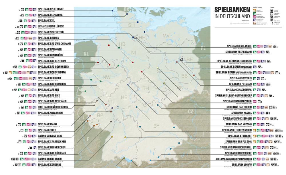 Spielbanken Deutschland - 8384