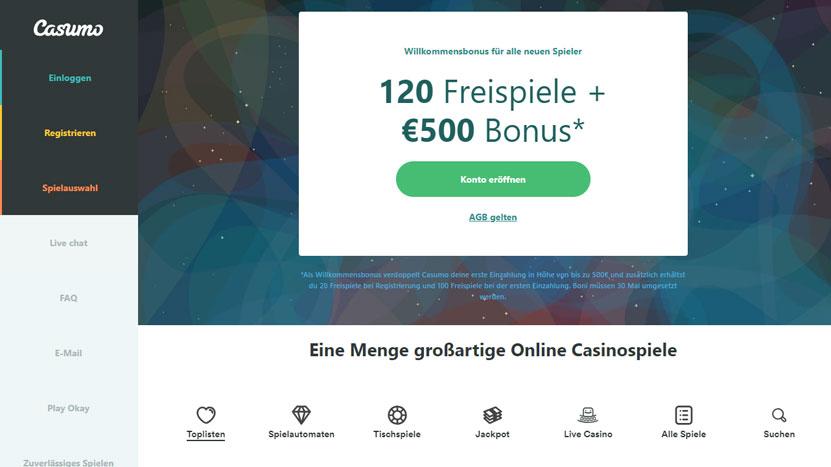Freispiele 500 Bonus - 14876