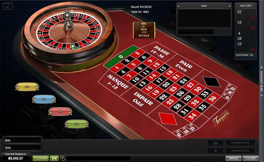 Roulette Tisch Casino - 28583