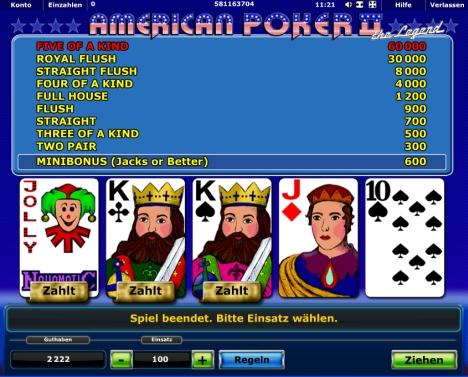 American Poker 2 - 60664