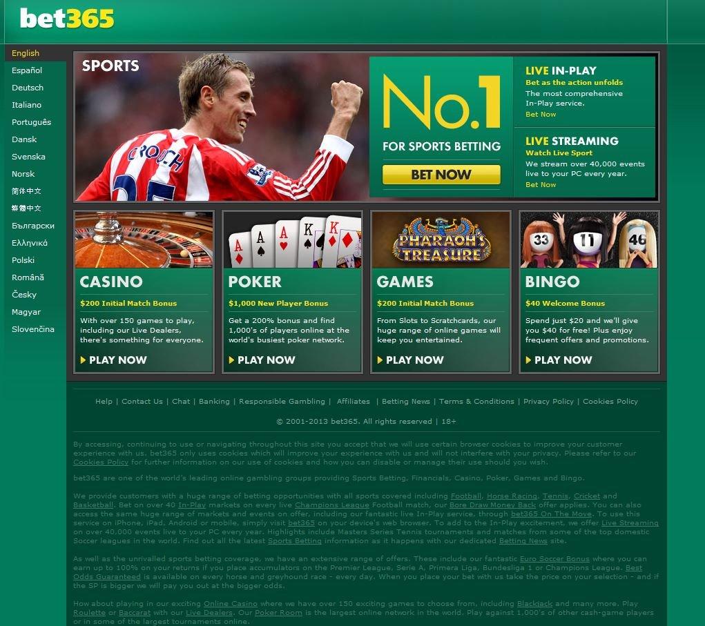 Bet 365 Casino - 62413