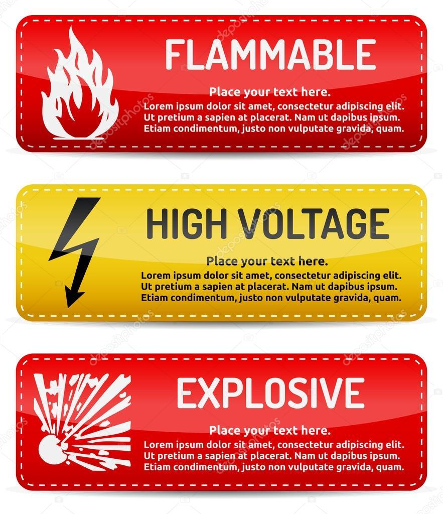 Danger High Voltage - 13181