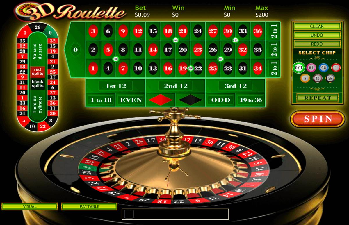 Europäisches Roulette Spielautomaten - 7834