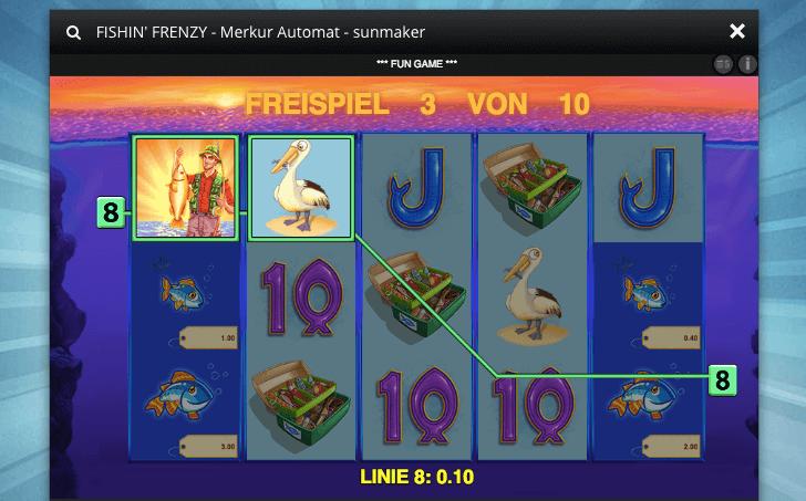 Fishin Frenzy Freispielen - 17326