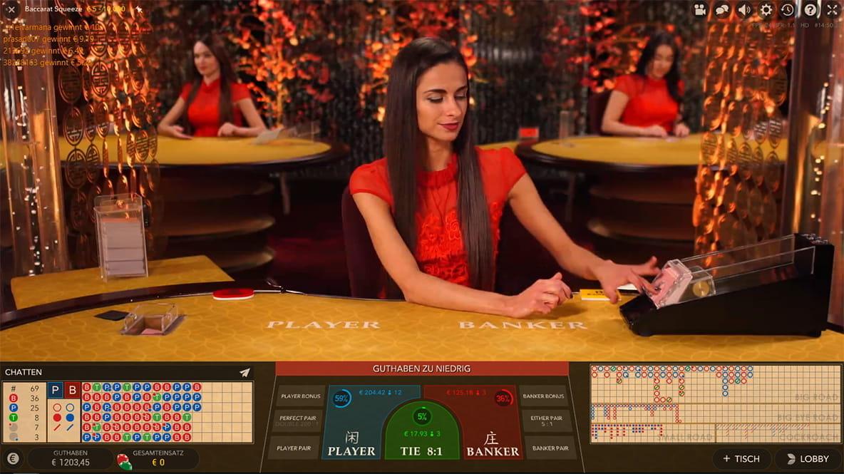 Live Casino - 27075