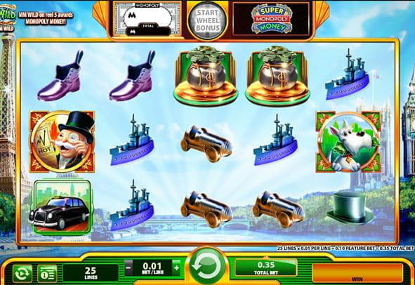 Monopoly Echtgeld - 47975