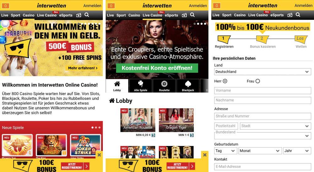 Neue online Casinos - 1619
