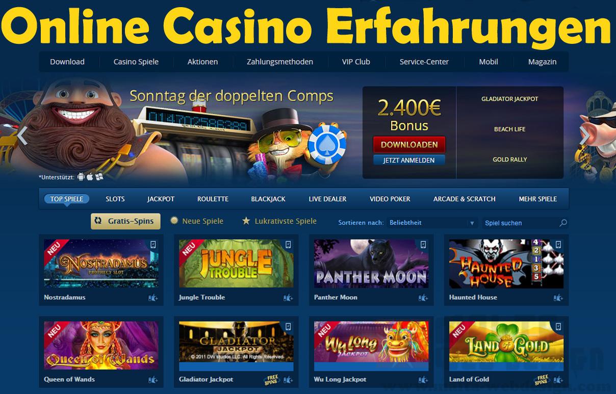 Online Casino Erfahrungen - 83313