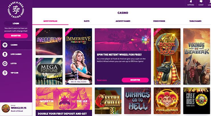 online casino mit spielen book of ra
