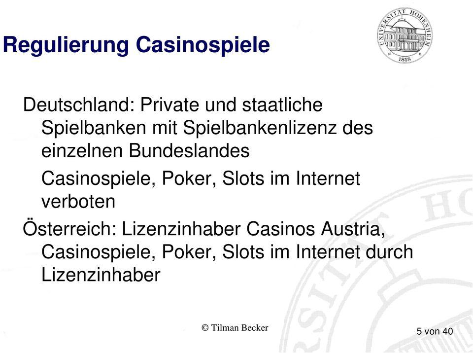 Staatliche Spielbanken Bayern - 13334