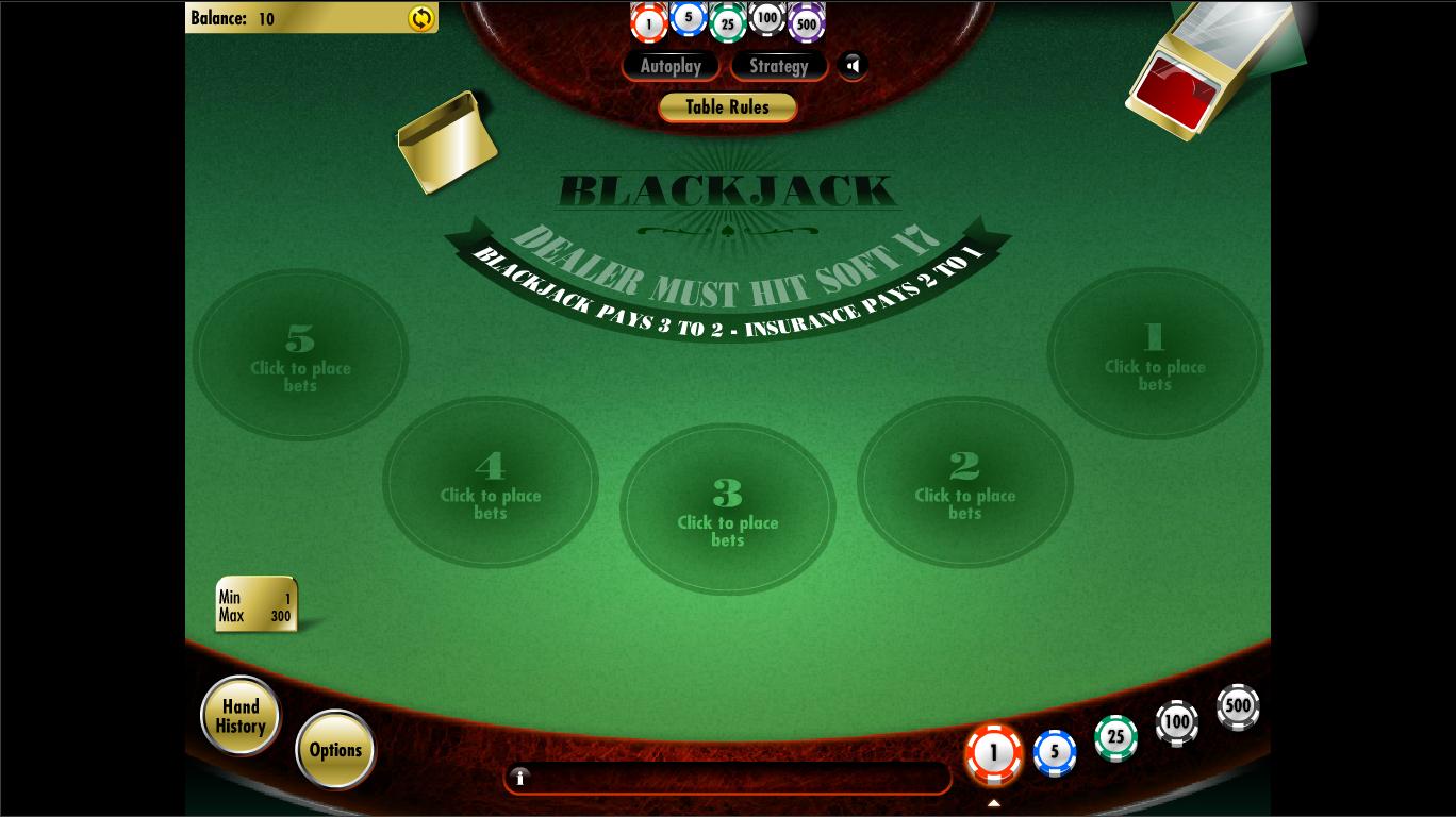 Strategie Blackjack Shadow - 48834